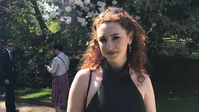 Alana Cutland British student