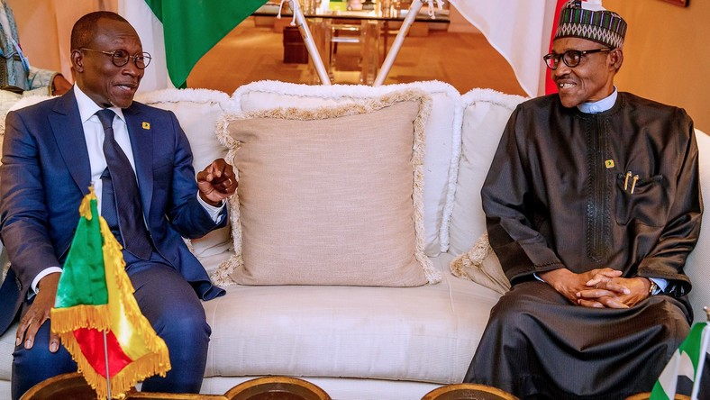 Buhari meets Talon