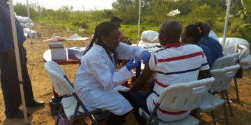 Burundi Ebola vaccination