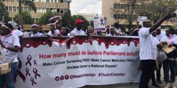 Kenya protests over cancer