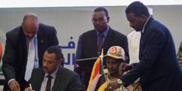 Sudan power sharing deal