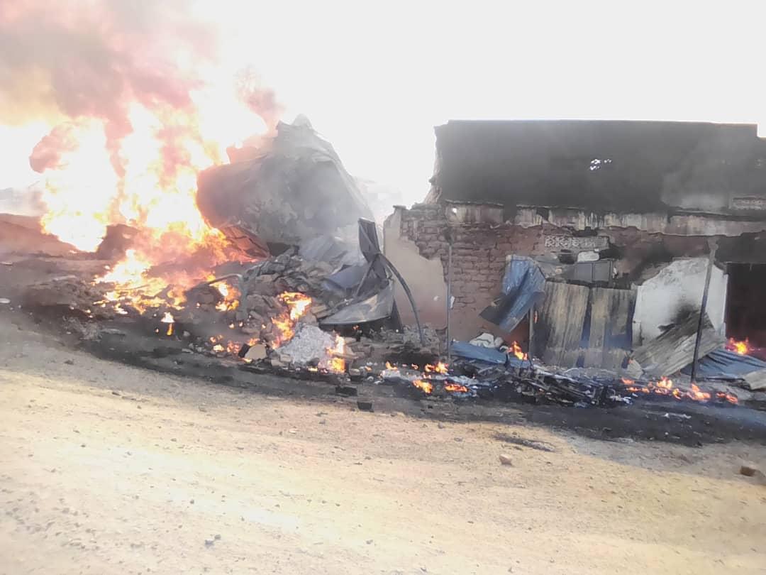 Uganda fuel tanker explosion