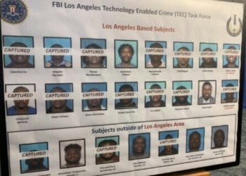 The 80 Nigerians arrested by FBI