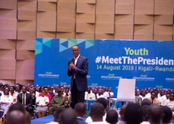 Kagame meets youth
