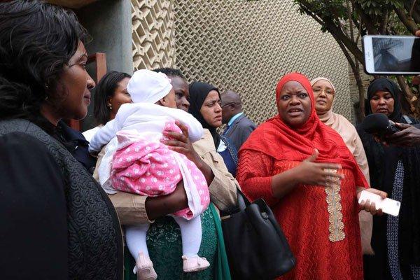 Kenya lactating MP Zulekha Hassan