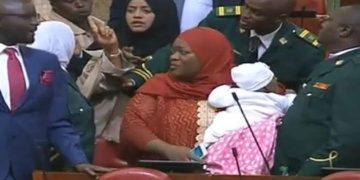 Kenyan MP thrown out