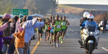 Man dies before Marathon finish line