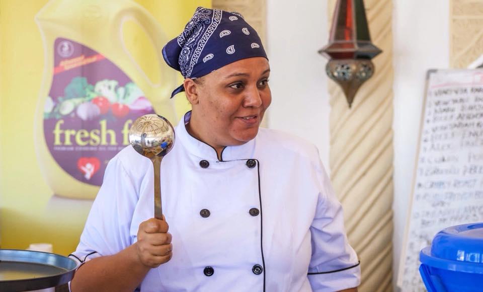 Kenyan chef Maliha Mohammed