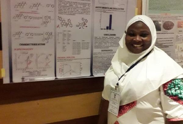 Nigerian PhD student anti-Tuberculosis drug