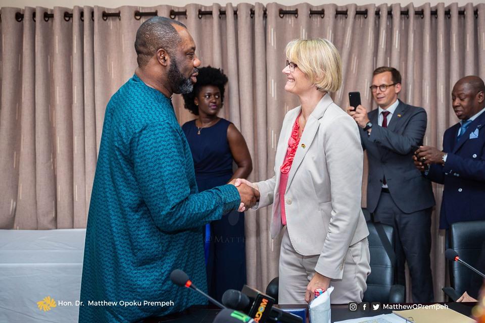 German minister in Ghana