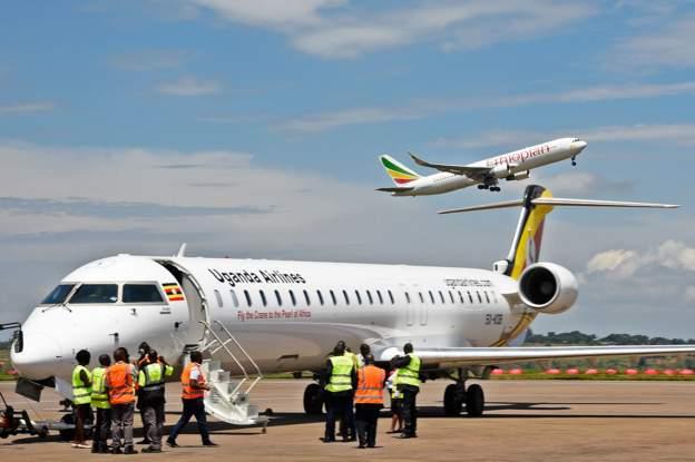 Uganda airlines jets