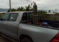Truck turned into ambulance