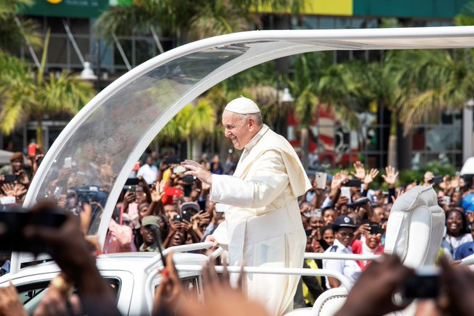 Pope Francis in Mozambique