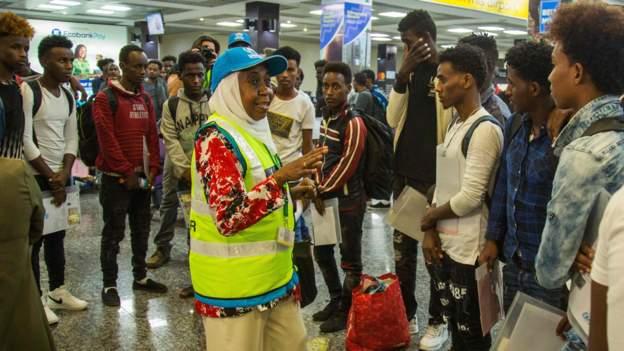 Rwanda welcomes Migrants from Libya