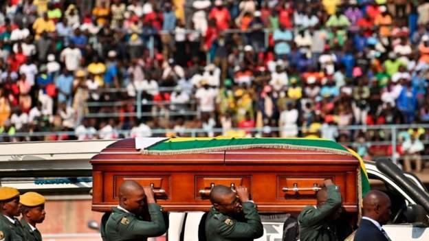 Mugabe to be buried