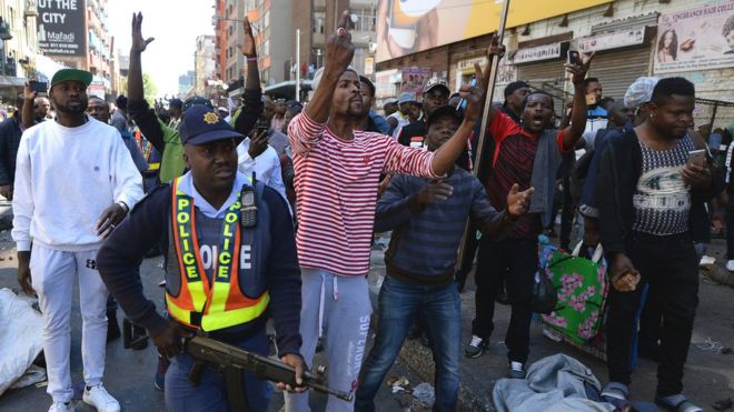 Xenophobic attacks