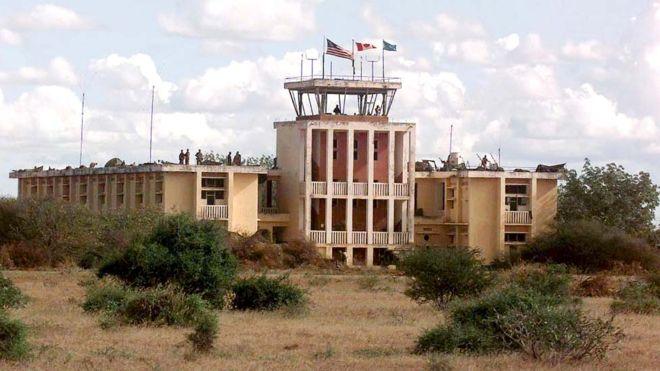US military base in Somalia