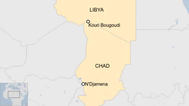 Chad mine collapse