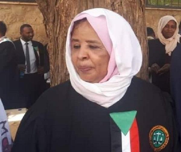 Neemat Abdulllah Sudan chief justice