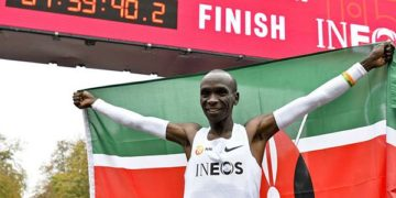 Kipchoge gets Kenya awards