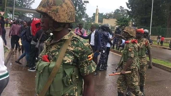 Makerere University Protest