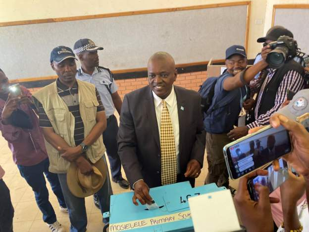 Masisi Botswana wins election