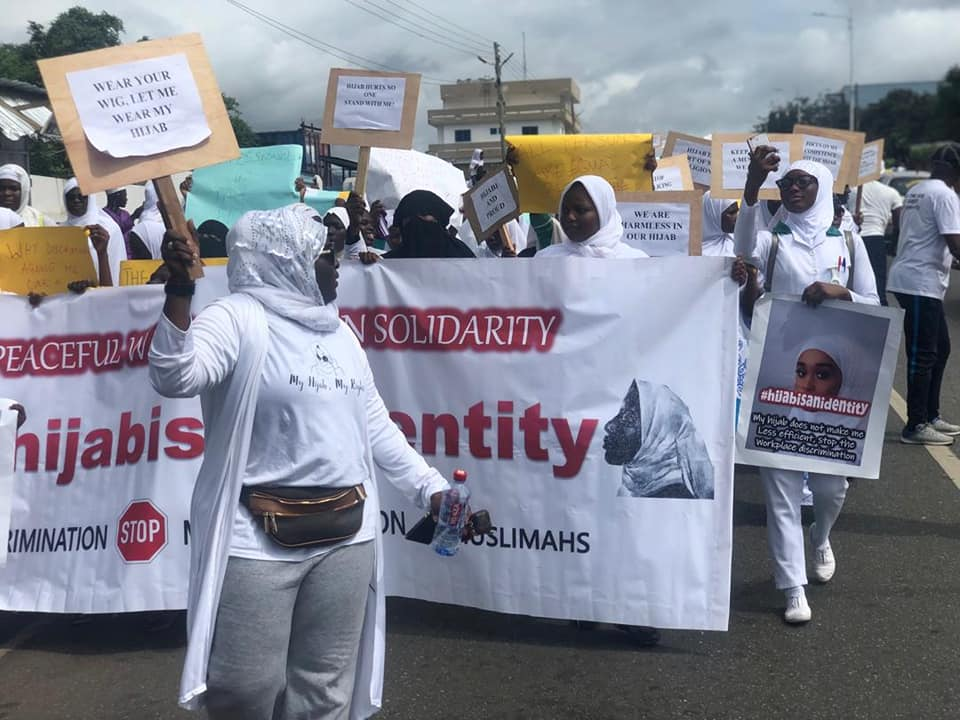 Muslims protest over hijab in Ghana