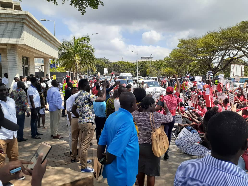 Protests in Ghana over legal education