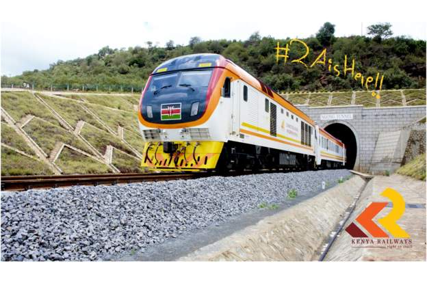 Kenya railway line