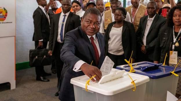 Mozambique voting