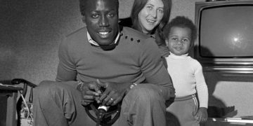 Jean-Pierre Adams and wife