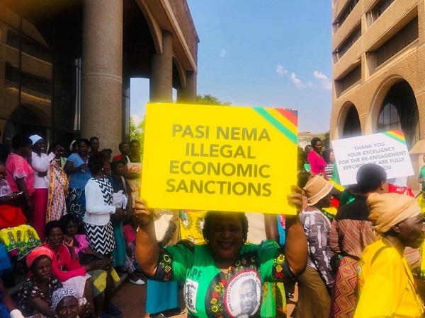 sanctions against zimbabwe