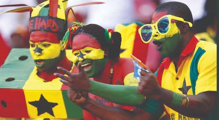 Ghana black stars support