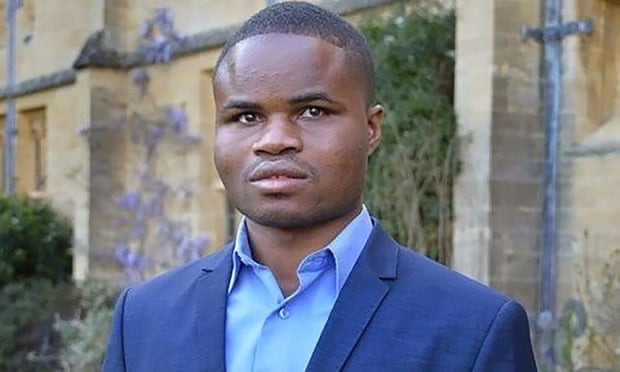 Ghanaian blind student in Oxford