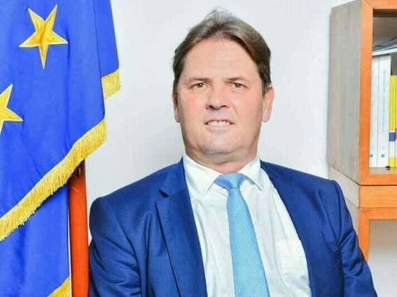 EU ambassador Oliver Nette