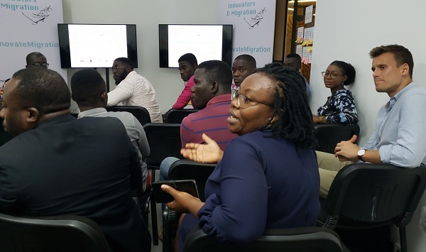 Young innovators in Ghana