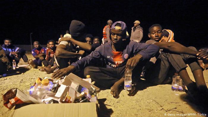 Migrants travel to Europe
