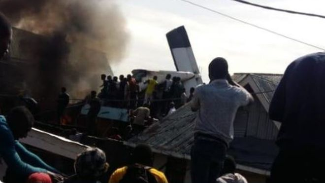 DR Congo plane crash