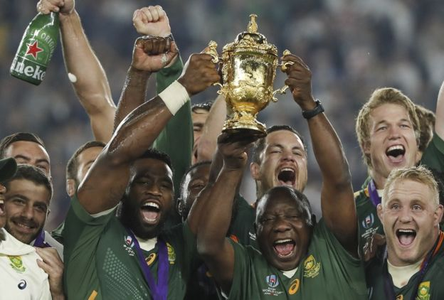 Rugby world cup winners