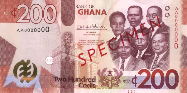 Ghana introduces new banknotes