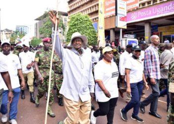 Museveni anti-corruption march