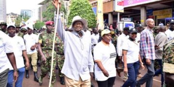 Museveni anti-corruption march