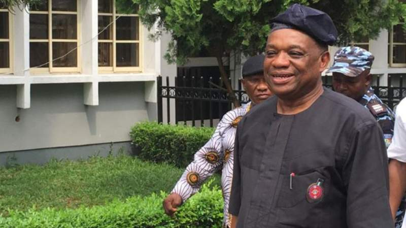 Nigerian senator jailed