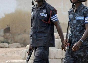 Police officers in Ghana