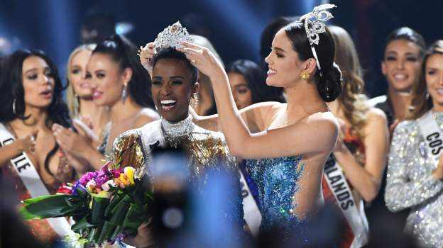 South African wins Miss Universe