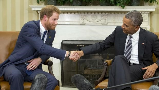 Harry and Obama