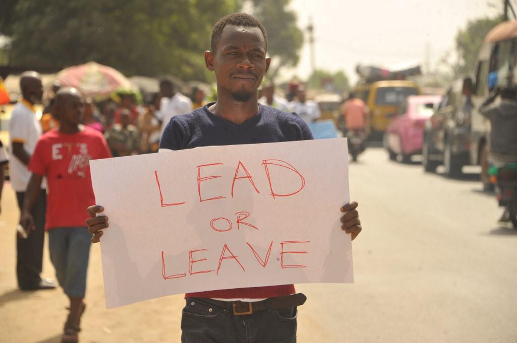 Protests in Liberia