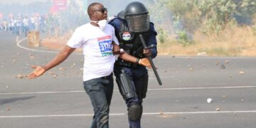 Protesters arrested in Gambia
