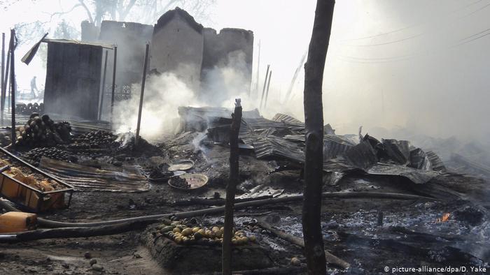 Bomb blast in Nigeria