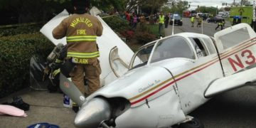 commercial flight accident